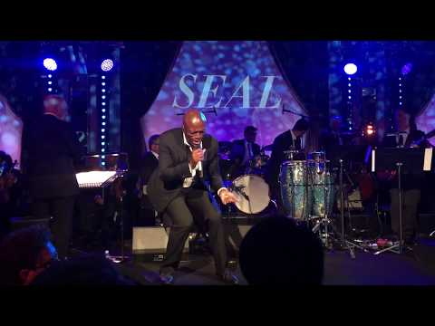 Luck be a Lady Tonight - SEAL performs LIVE at Bloomsbury Ballroom!