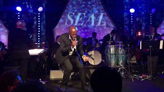 Luck be a Lady Tonight SEAL performs LIVE at