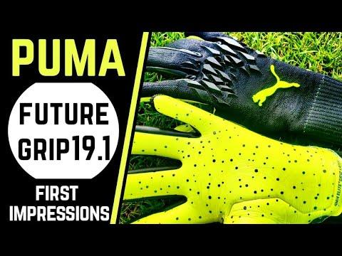 Puma Future Grip 19.1 First Impressions & Test : Goalkeeper Glove Review
