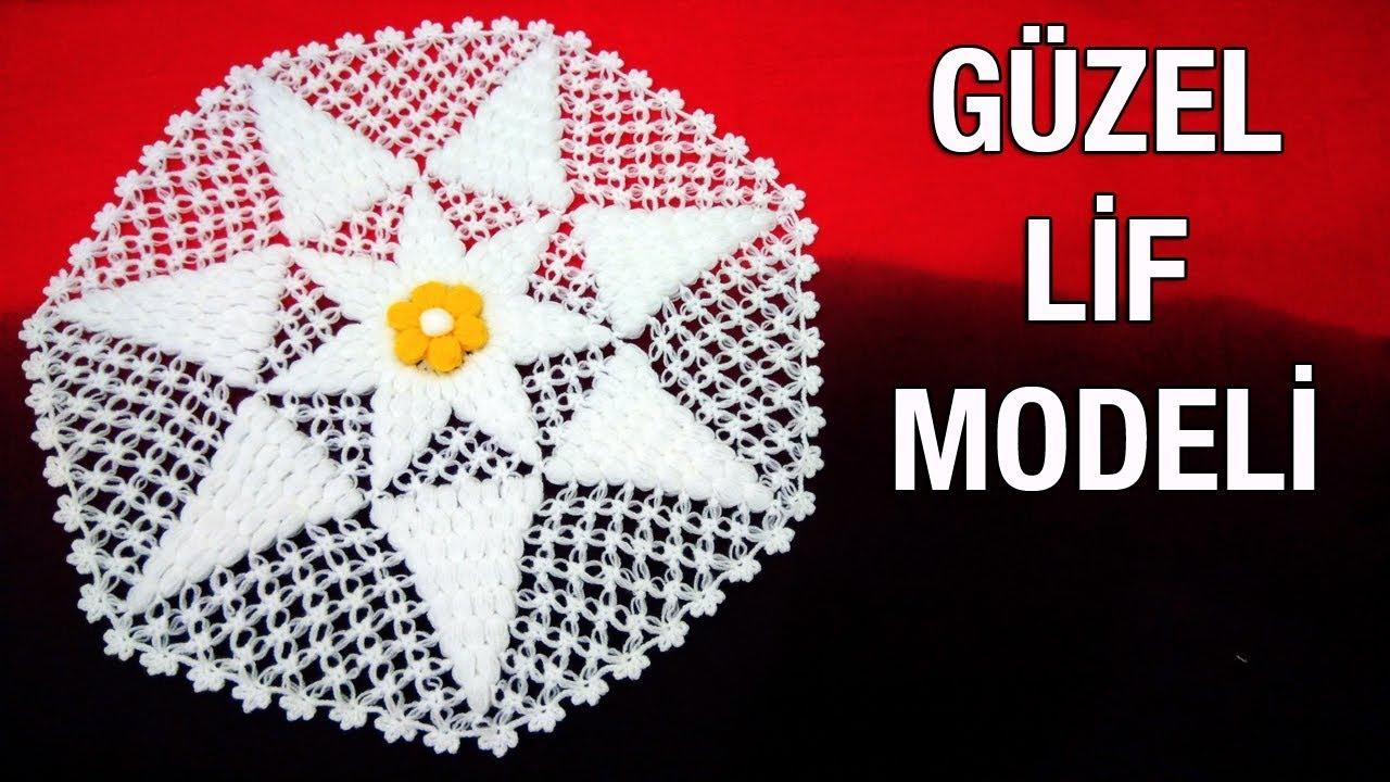 Minik Kelebekler Lif Modeli Yapılışı Anlatımlı Türkçe Videolu