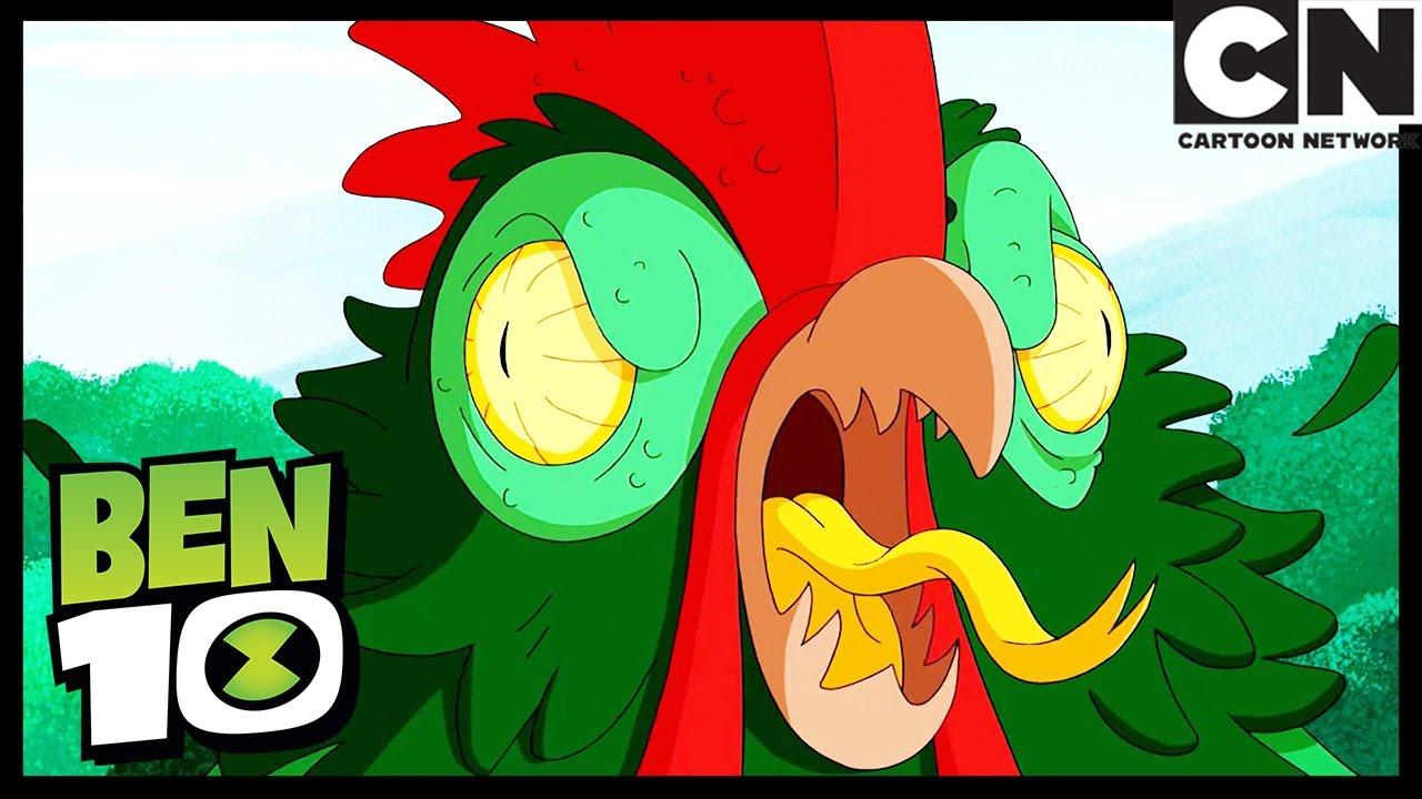 La criatura de Chichén Itzá, primera parte   Ben 10 Español   Cartoon Network