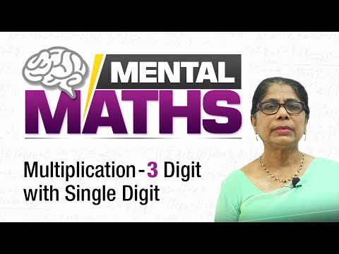 Learn basic of mental Maths for beginners | Multiplication-3 digit with Single digit | Maths Tricks