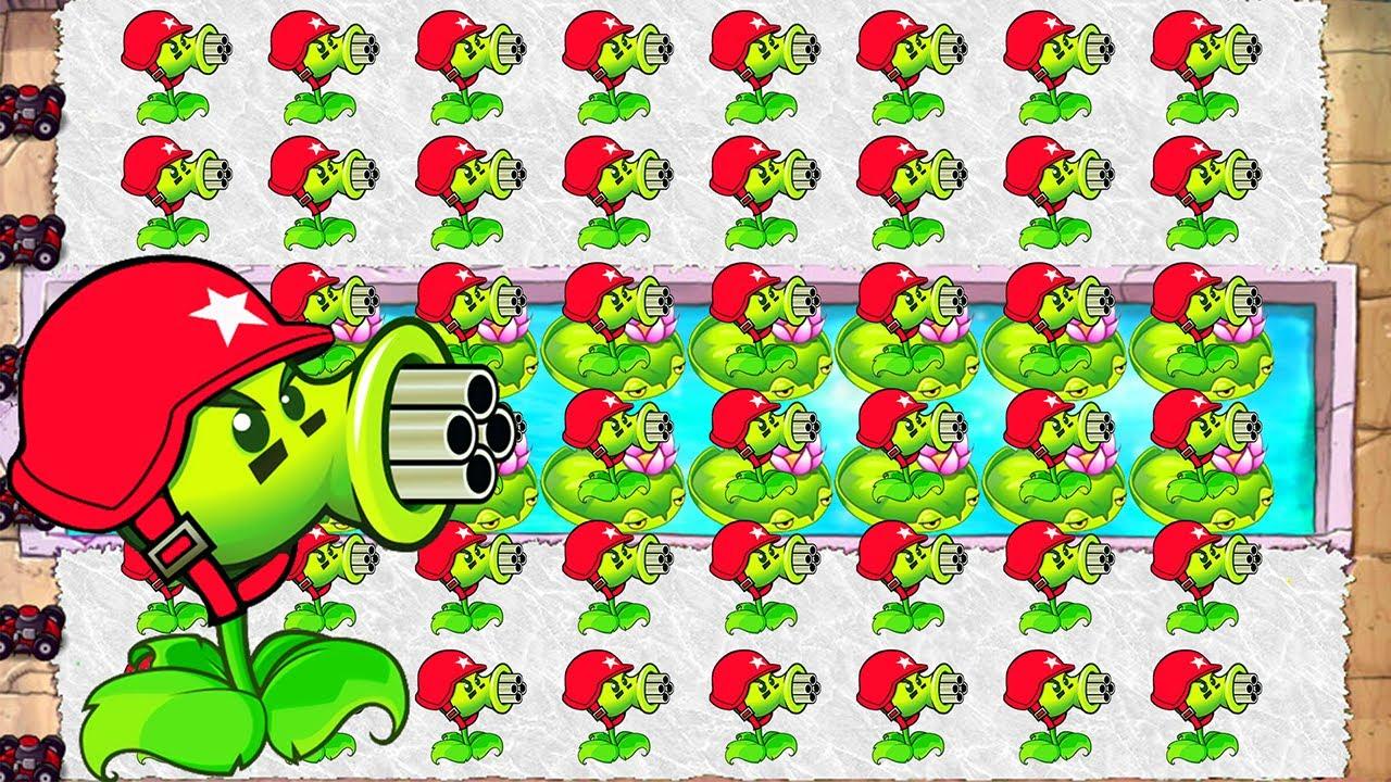 Sin Roblox Zombie Strike เเมพย งซอมบ ส ดเฟ ยว จ ดเกมพาส Plants Vs Zombies Mod Xmas Gatling Pea Vs Gargantuar Fight Youtube