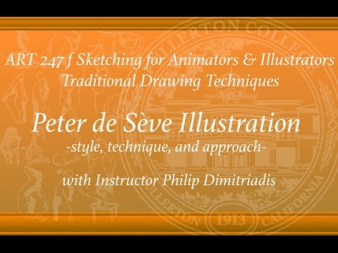Peter De Seve- Amazing Illustrator