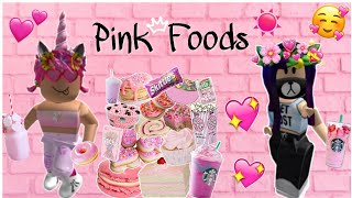 Day Routine + Only Eating Pink Foods For 24 Hrs W/Bsf || Roblox Bloxburg||