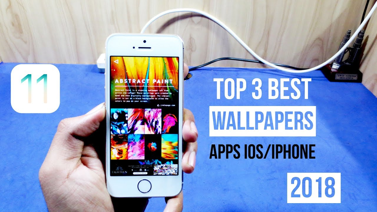 My Top 3 Best ios/iphone Wallpapers Apps For 2018!!!