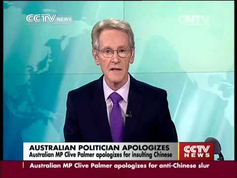 Australian MP apologizes for insulting Chinese