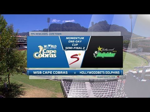 Momentum OneDay Cup 20172018: SemiFinal  Cape Cobras vs Dolphins