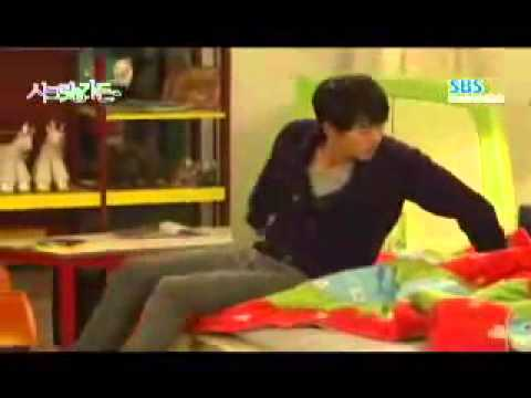 Secret Garden Behind scenes ep 20 3 children & Hyun Bin Ha Ji Won