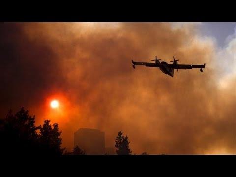 Tens of Thousands Evacuate as Fires Ravage Northern Israel