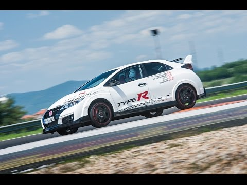 Honda Civic Type R sets new benchmark time at Hungaroring - Norbert Michelisz