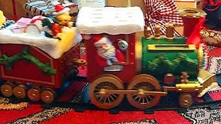 Le train de Noël pour les enfants | Joyeux Noël Tinyschool Français