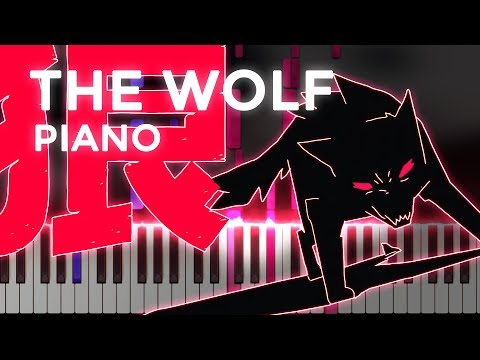 SIAMÉS · The Wolf | LyricWulf Piano Tutorial on Synthesia