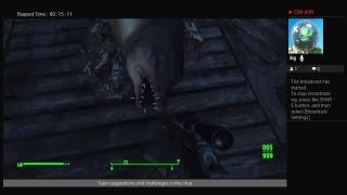 Fallout 4 gamplay no audio