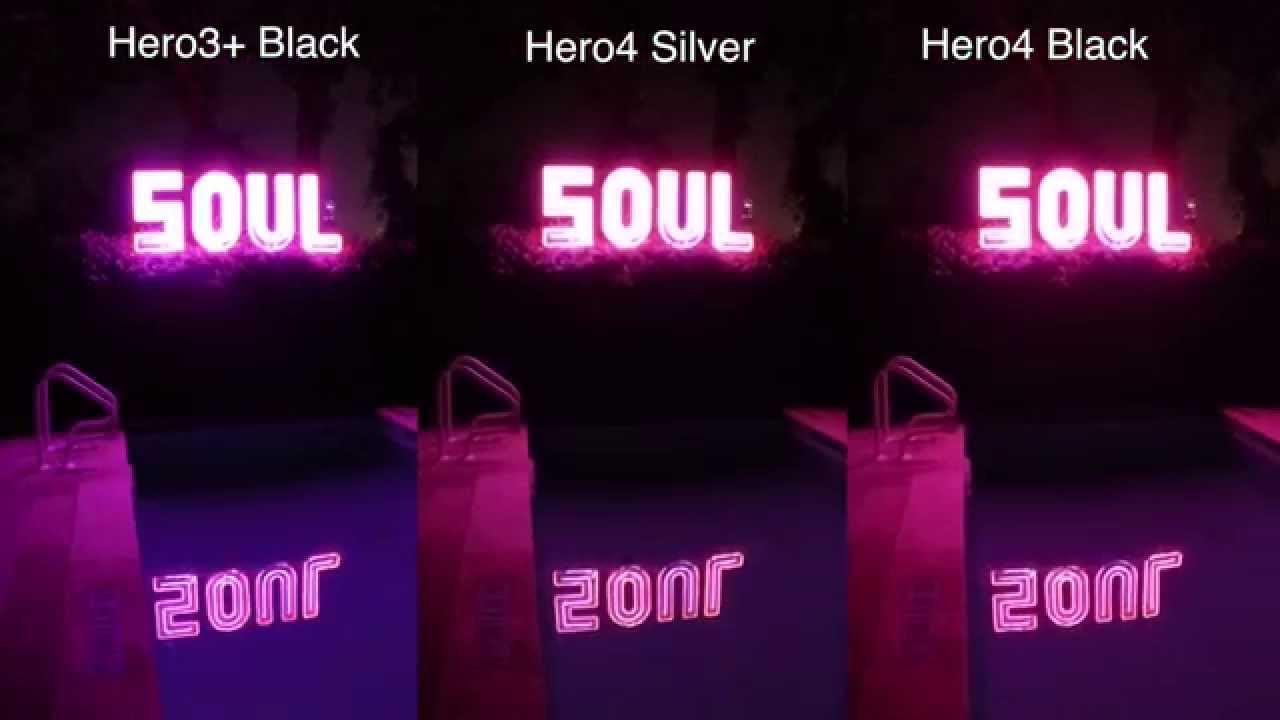 Hero4 Silver / Black 3+ Black Low Light Test Comparison - GoPro Tip #381 - YouTube & Hero4 Silver / Black 3+ Black Low Light Test Comparison - GoPro ... azcodes.com