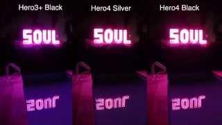 Hero4 Silver / Black, 3+ Black Low Light Test Comparison - GoPro Tip #381