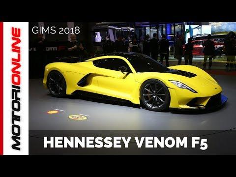 Hennessey Venom F5_ LIVE_ Salone di Ginevra 2018
