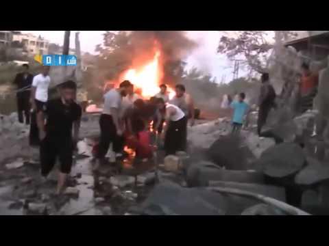 Syam, Idlib.  Warga Syria di serang disaat waktu berbuka puasa