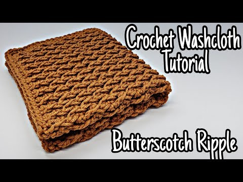 how-to-crochet-a-washcloth-tutorial-|-butterscotch-ripple-|-bag-o-day-crochet-tutorial-#612
