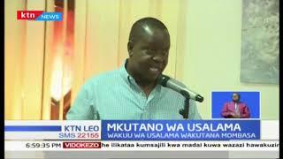 Mkutano wa usalama: Matiang'i apongeza polisi kwa kuwakabili magaidi
