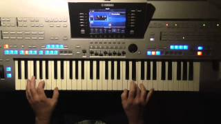 Blanket On The Ground - Billi Jo Spears, Instrumental Cover, Yamaha Tyros