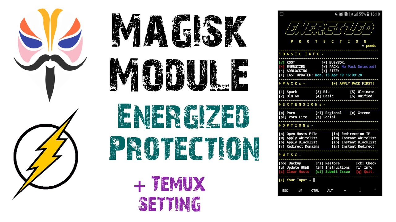 Best Magisk Module | Energized Protection⚡Termux