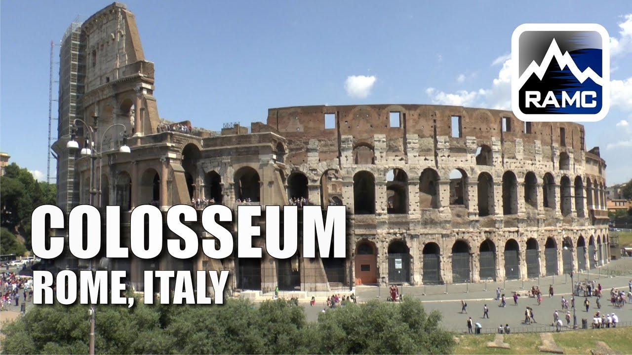 kolosseum rom f hrung city tour guide youtube. Black Bedroom Furniture Sets. Home Design Ideas