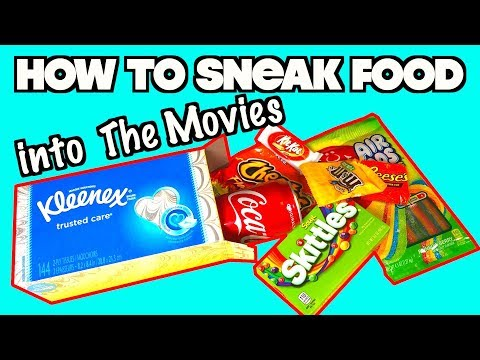 Smart Ways To Sneak Food Into The Movies To Avoid Spending A Lot Of Money - MUST TRY