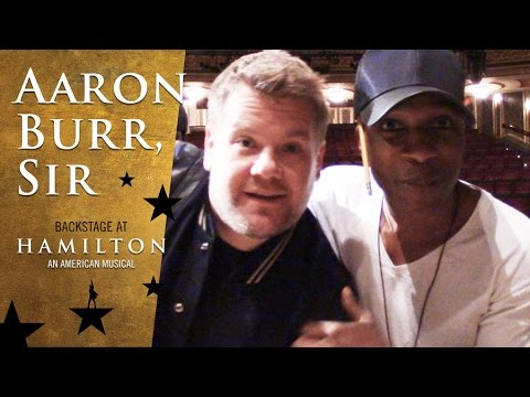 Episode 4 - Aaron Burr, Sir: Backstage at Broadway's HAMILTON with Leslie Odom Jr.