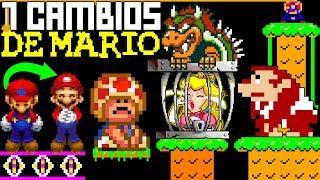 7 Cambios de Mario Hechos por Nintendo que NO Notaste