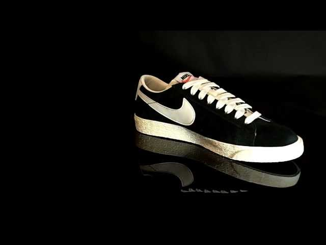 Nike Blazer Low Premium Vintage Black Sail 443903
