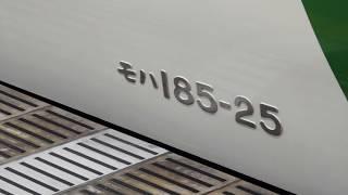 鉄道唱歌オルゴールあり!185系ムーンライトながら東京行き 横浜手前おはよう放送~東京
