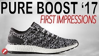 adidas pure boost 2017 first impressions