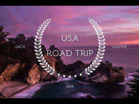 USA West Coast Road Trip 2015 - GoPro Hero 4  HD 