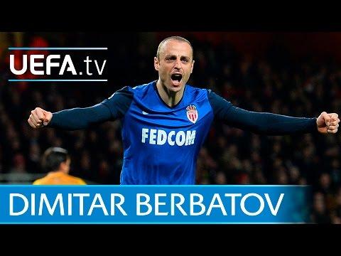 Berbatov stuns Arsenal for Monaco in UEFA Champions League