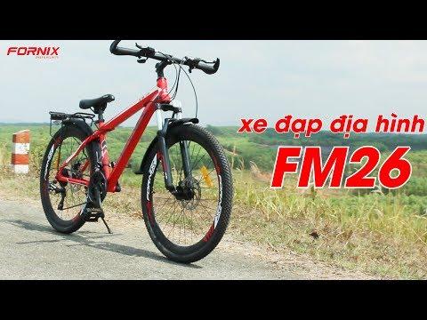 Đánh giá xe đạp thể thao Fornix FM26
