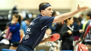 2018 US Open Table Tennis Championships - Day 2 (Quarterfinals) - Table 1