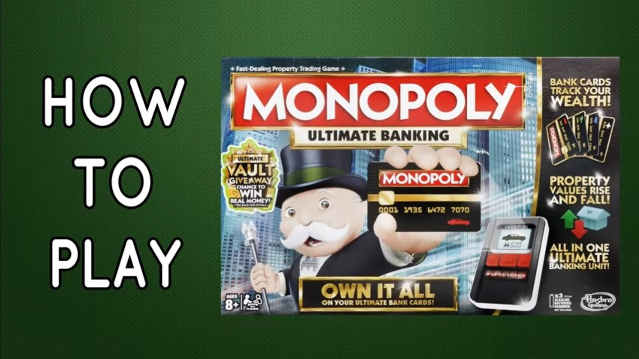 Kartenleser anleitung banking ultra monopoly VIDEO: Monopoly