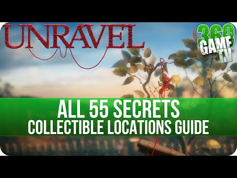 Unravel - All Secrets Location (Collectibles Guide) - No stone unturned Achievement / Trophy Guide