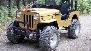 130 Willys Jeep Model. Only for jeep lovers