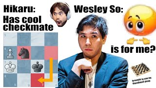 Wesley So Blunders Into An Insane Checkmate