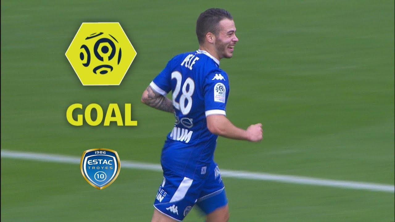 bc1dfc749fbd Goal Bryan PELE (40 )   ESTAC Troyes - AS Saint-Etienne (2-1)   2017 ...