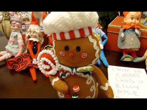 Elf on the Shelf: The Gingerbread Man!