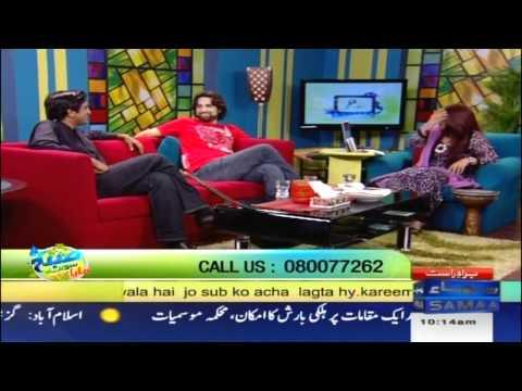 Noori on Samaa TV [Part 2]