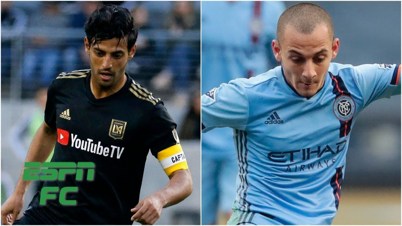 New York City FC and LAFC battle it out to a draw   MLS Highlights