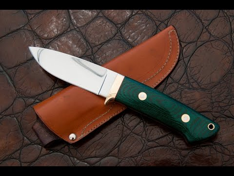 How To Make A Loveless Drop Point Hunter Knife