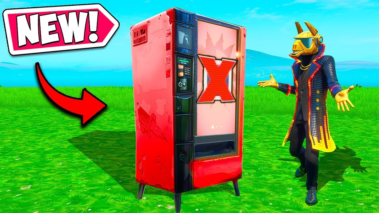 *NEW* VENDING MACHINES HAVE CHANGED!! – Fortnite Funny Fails and WTF Moments! #664
