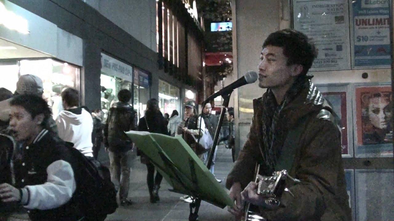 怎麼捨得你 (張學友) / Kimman Wong 黃劍文 @ Melbourne - YouTube