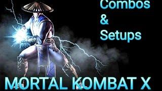 MKX Raiden Top combo & setup & defense skills (30-53% no reset)