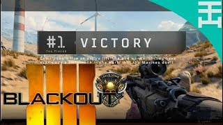 Call Of Duty Blackout Beta Game play: Solo victory - Xbox One